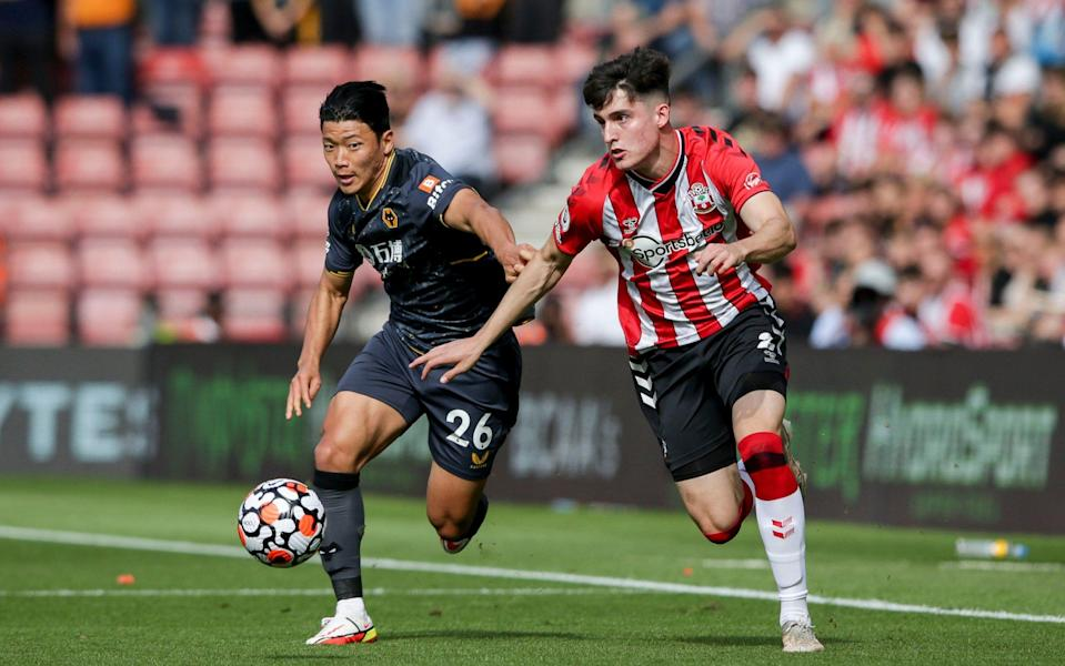 Summer signing Tino Livramento once again stood out for Southampton - GETTY IMAGES