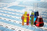 "If you run through the list of elements found on the periodic table—hydrogen, helium, oxygen, magnesium, titanium, copper, and all of the others—there's <a href=""https://www.thoughtco.com/what-letter-is-not-found-in-the-periodic-table-606637"" rel=""nofollow noopener"" target=""_blank"" data-ylk=""slk:only one letter missing"" class=""link rapid-noclick-resp"">only one letter missing</a>: ""J."" (That is unless you're looking at a periodic table from countries like Norway, Poland, Sweden, Serbia, or Croatia, which use the name ""jod"" for iodine.)"