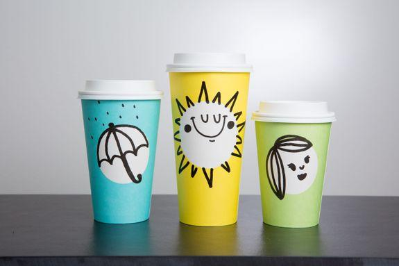 Starbucks Spring Cups photographed on Wednesday, March 8, 2017. (Joshua Trujillo, Starbucks)