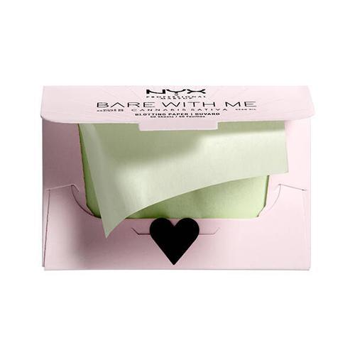 NYX Professional Makeup Bare With Me Cannabis Sativa Seed Oil Blotting Paper
