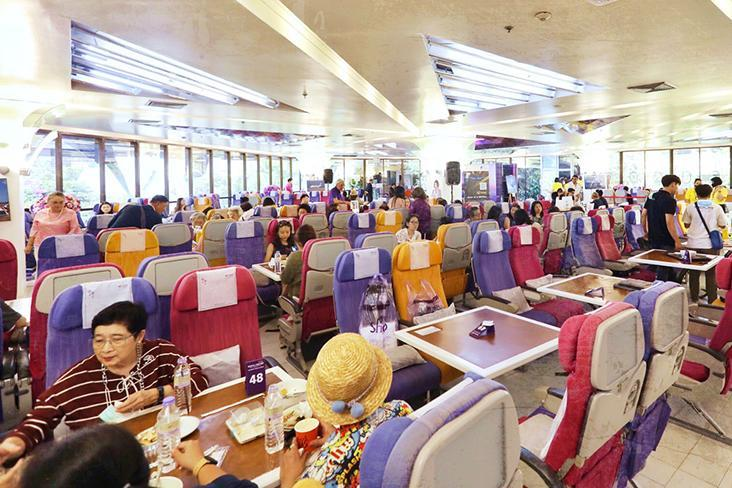 Thai Airways have introduced the Royal Orchid Dining Experience in Bangkok, where diners can enjoy in-flight meals without flying. – Pictures by CK Lim