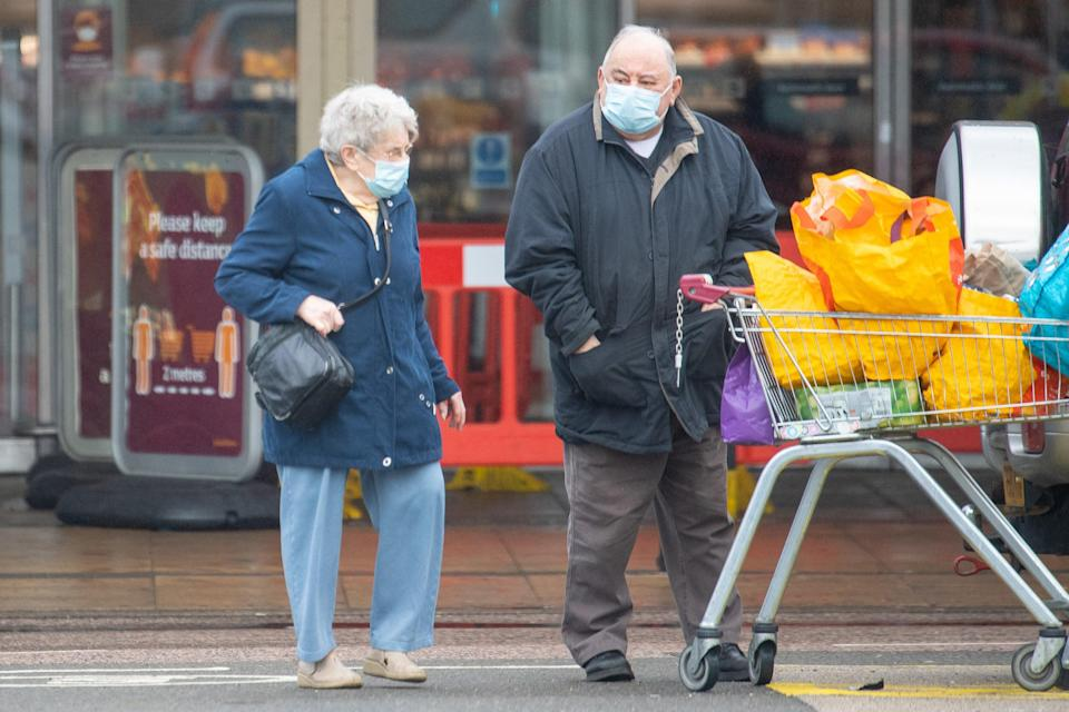 <p>Facemasks have become part of daily life</p> (PA Wire)