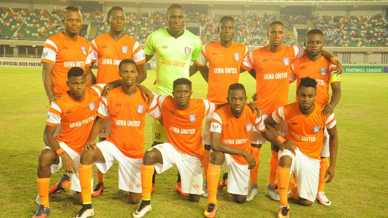 Akwa United's Pyagbara: Rivers United were lucky