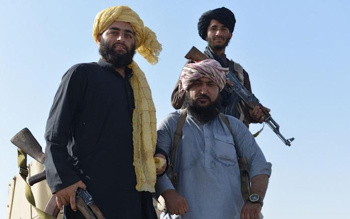 The Taliban are continuing their victory celebrations in Kabul - Shutterstock