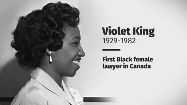 In 1953, Violet King became the first Black graduate of the University of Alberta's faculty of law. She was the first Black woman to practise law in Canada after being called to the bar in 1954. And she would become the first Black lawyer admitted to the Law Society of Alberta.