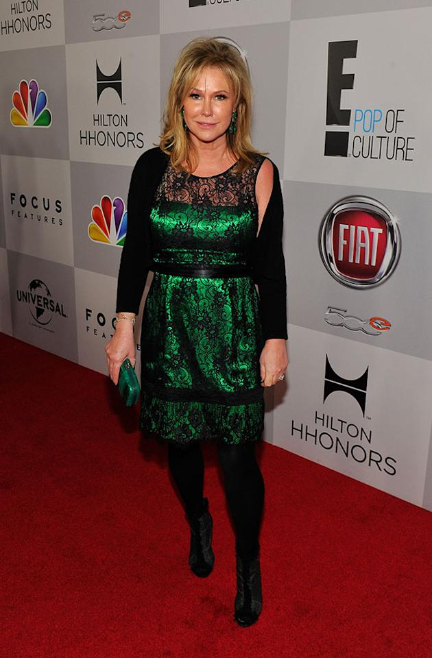 Kathy Hilton attends the NBCUniversal Golden Globes viewing and after party held at The Beverly Hilton Hotel on January 13, 2013 in Beverly Hills, California.
