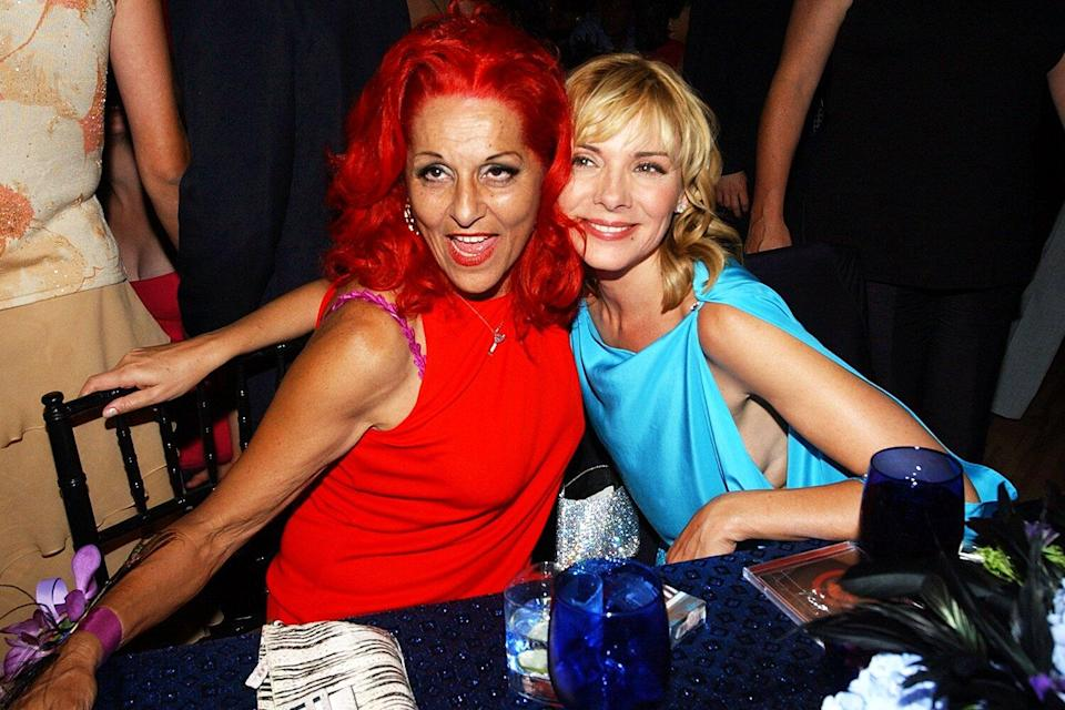 Patricia Field and Kim Cattrall during HBO's