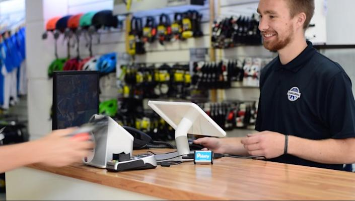 Pointy helps consumers find out what products are in stock in stores near them. Photo: Pointy