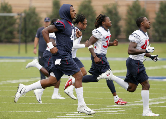 The Houston Texans have been in Frisco, Texas this week but will return to Houston soon. (AP)