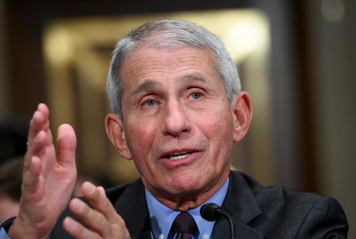 """Dr. Anthony Fauci calls it """"mind-boggling"""" that people still say the coronavirus pandemic is made up."""