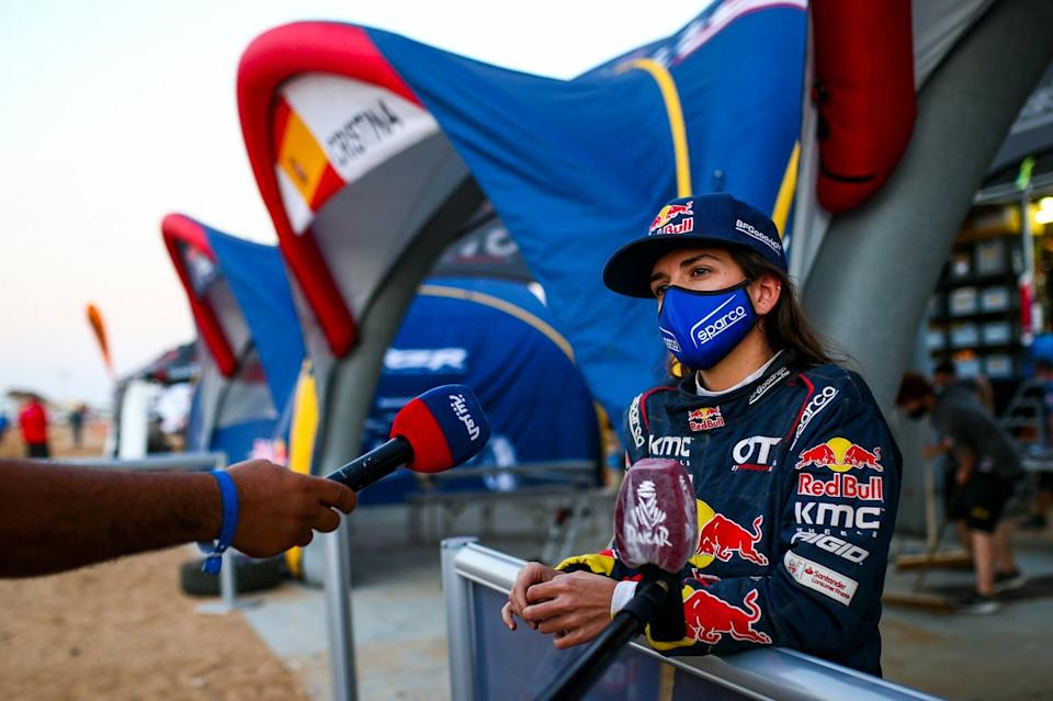 "#387 Red Bull Off-Road Team USA OT3: Cristina Gutierrez Herrero<span class=""copyright"">A.S.O. </span>"