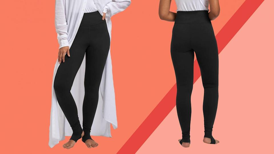 These Flattering High-Waisted Leggings Are So Soft, I Bought Two Pairs