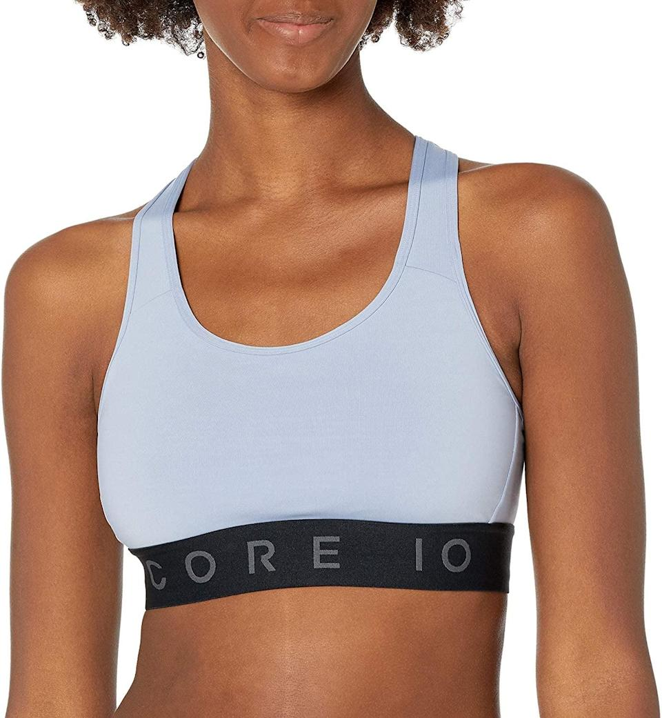 <p>The <span>Core 10 Compression Racerback Sports Bra</span> ($16-$24) offers medium support and is great for at-home workouts.</p>