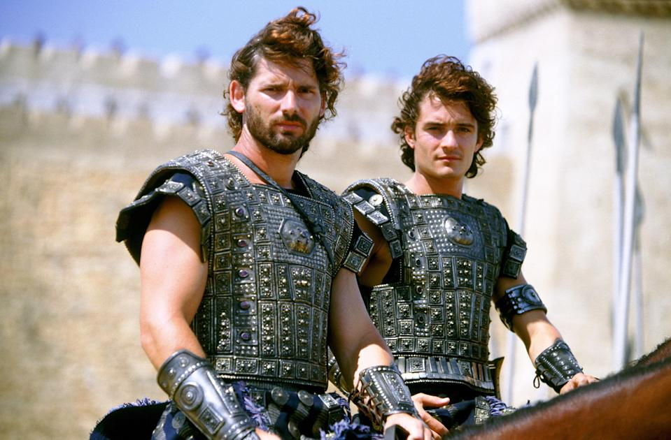 <strong><em><h3>Troy </h3></em></strong><h3>(2014)<br></h3><br>Only Hollywood could take <em>The Iliad</em>, strip it of its poetry and literary significance, and make it an excuse for Orlando Bloom, Eric Bana, and Brad Pitt to prance around on horseback.