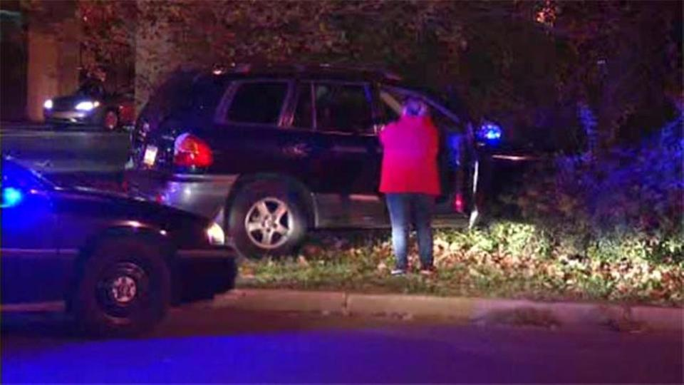 Police: Driver crashes into building, flees on foot in Feltonville