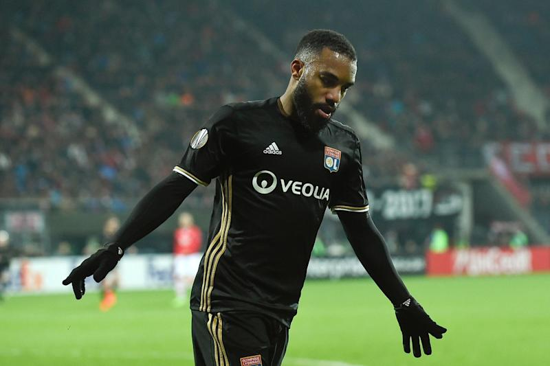 Arsenal target: The Gunners failed in a move for Lacazette last summer: AFP/Getty Images