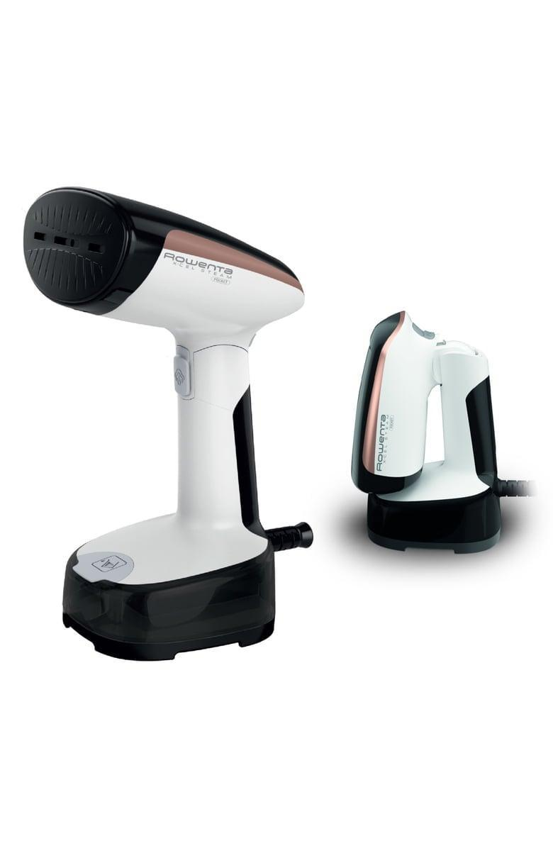 <p>Get wrinkle-free clothes on the go with the <span>Rowenta X-Cel Steam Pocket Portable Steamer</span> ($60).</p>