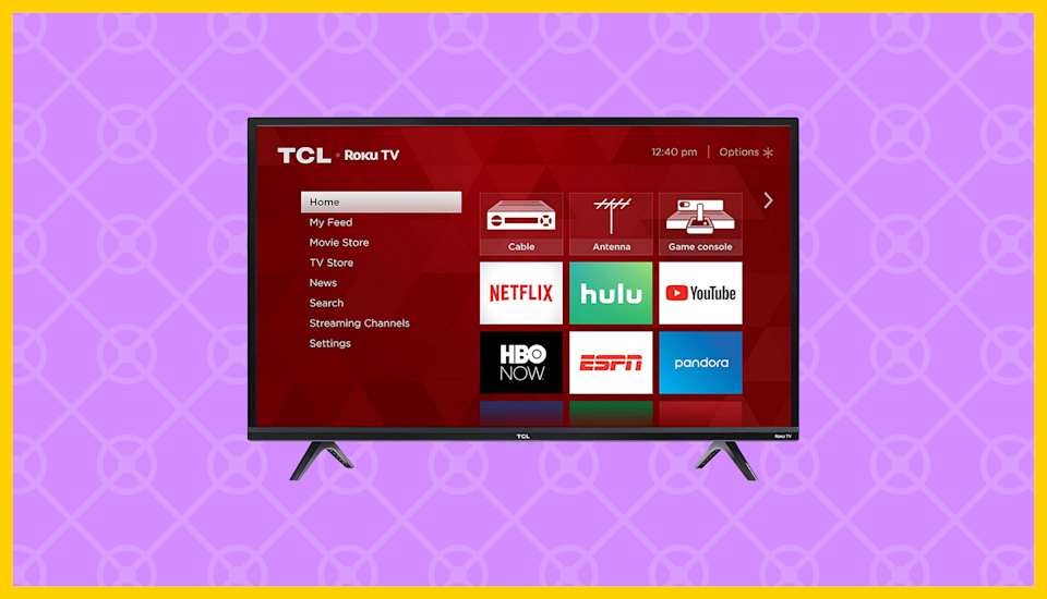 Save $102 on the TCL 40-inch HD Smart LED Roku TV (40S325). (Photo: Amazon)