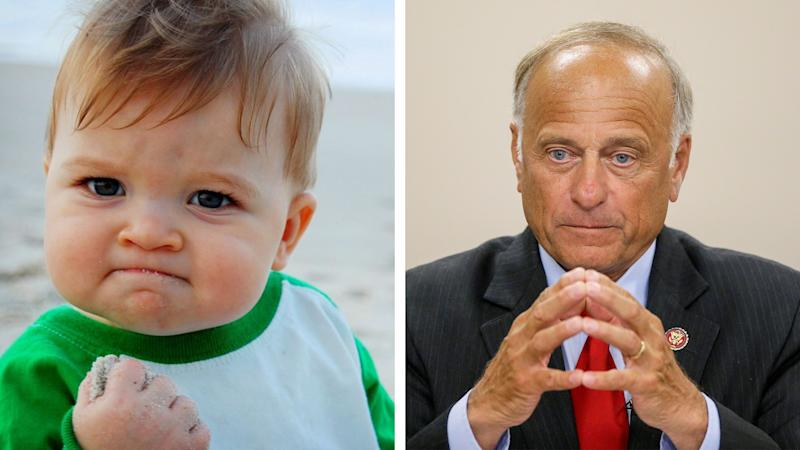 Mom of Famous Meme Baby Demands Steve King Stop Using Her Son's Picture