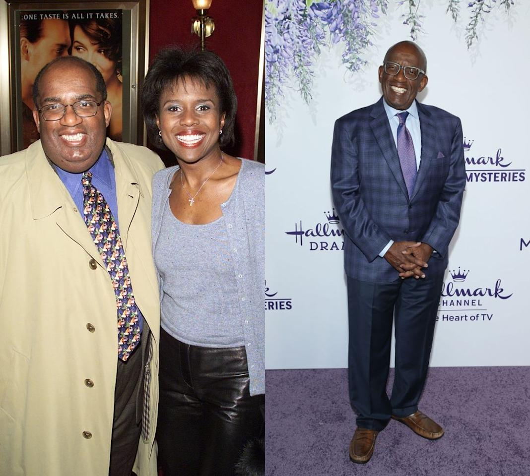 """<p>Topping out 340 pounds, the<em> <a href=""""https://www.today.com/health/al-roker-im-never-going-back-fat-1B7814254"""">Today Show</a> </em>host decided to get weight-loss surgery to get back down to a healthy size. He lost 150 pounds post-operation, eating mostly a high-protein and low-carb diet. He even wrote a book about his journey, <em><a href=""""https://www.amazon.com/Never-Goin-Back-Winning-Weight/dp/0451414942"""">Never Going Back</a>.</em></p>"""