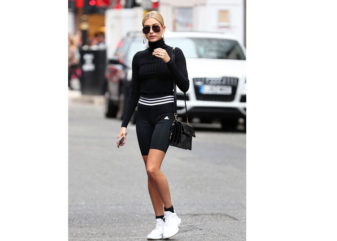 <h2>In Adidas Shorts</h2>                                                                                                                                                                             <p><p>In London, 2017</p>                                                                                                                                                                               <h4>Getty Images</h4>