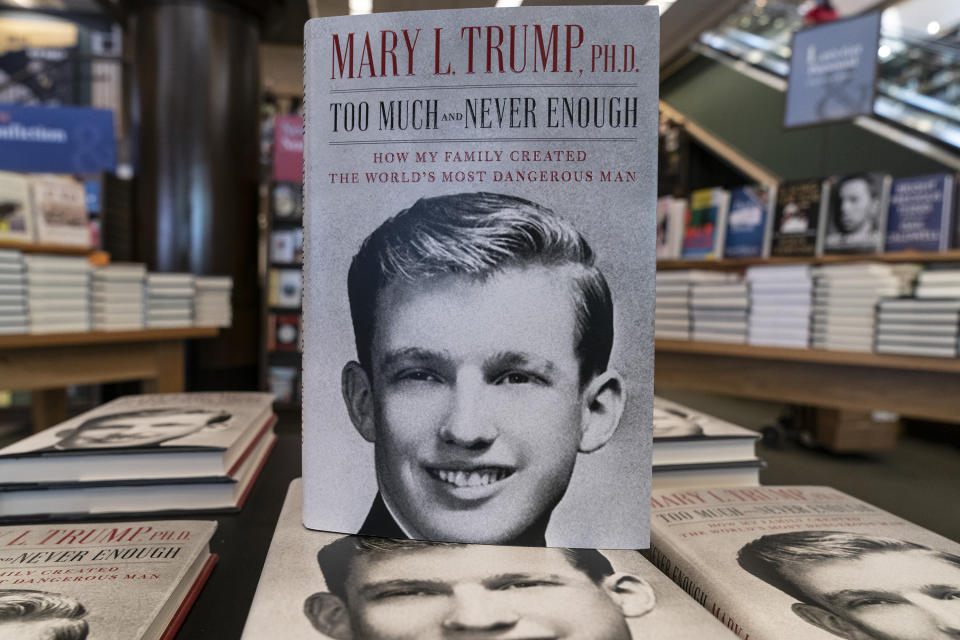 Mary Trump's new book about U.S. President Donald Trump