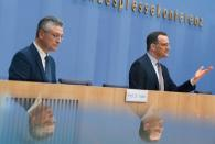 News conference on COVID-19 in Berlin