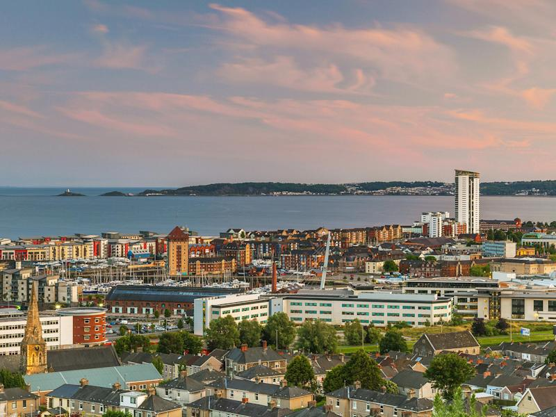 Swansea is bidding to be the UK City of Culture 2021 for the second time: Shutterstock