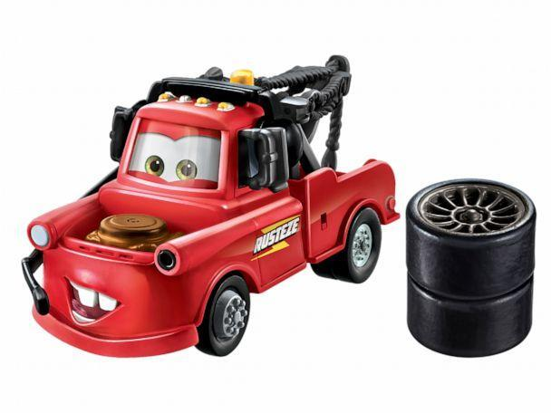 PHOTO: New toys of the Disney characters from 'Cars.' (Disney)