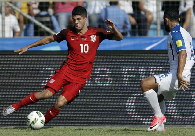 Christian Pulisic (10) and the USMNT still have some moves to make in World Cup qualifying. (AP)