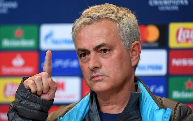Jose Mourinho says his players will not be shown any reruns of their defeat to Bayern - AFP