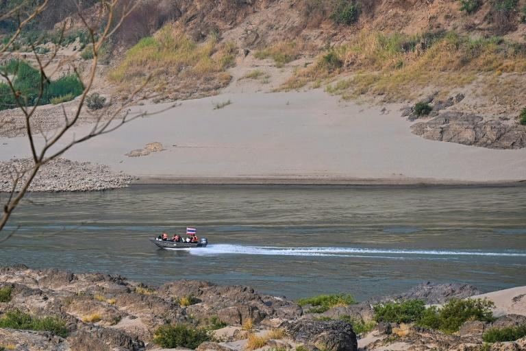 The sleepy village of Mae Sam Laep on Tuesday saw a handful of injured refugees make an emergency crossing across the Salween River