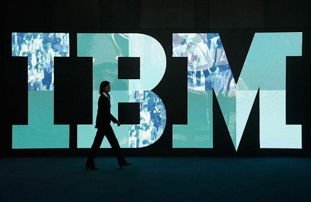 IBM's quarterly revenue continued to decline, but it's still one of the biggest company's around.