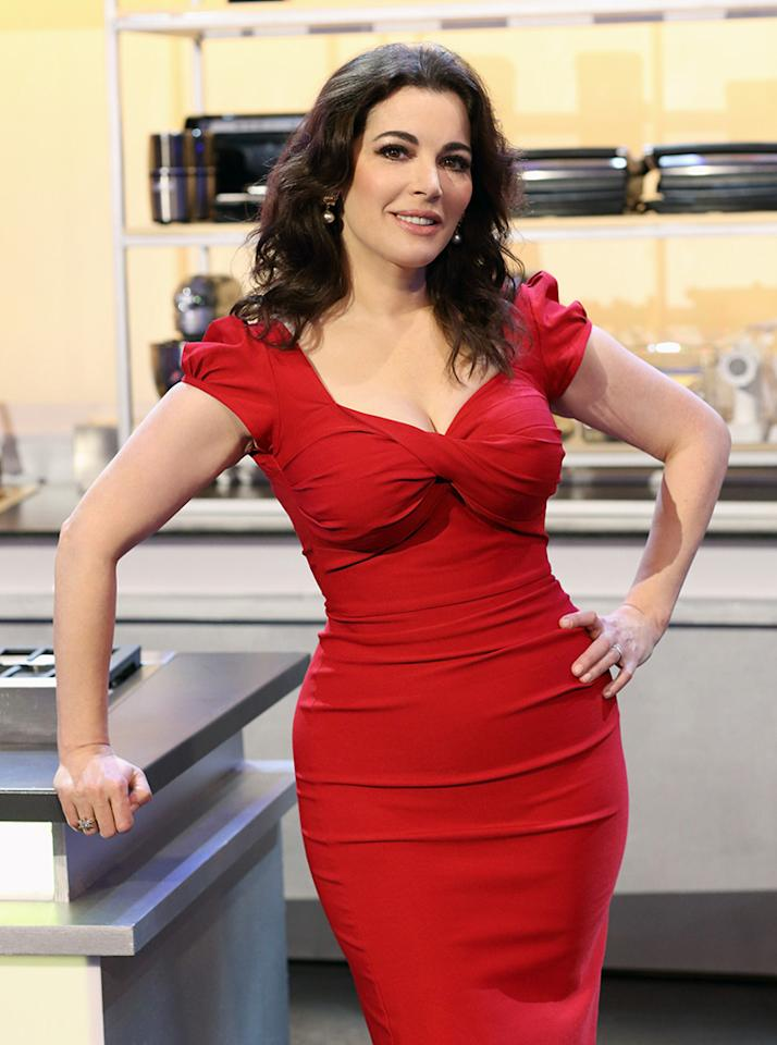 "ABC's ""The Taste"" features British food star Nigella Lawson."