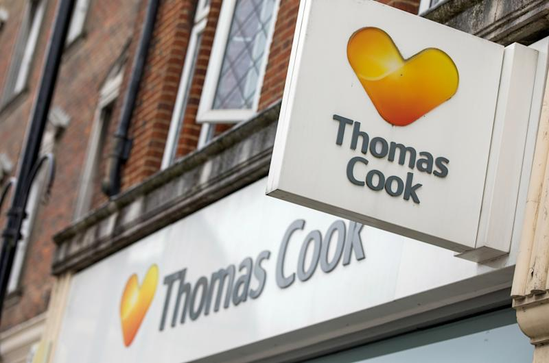 """(Bloomberg) -- Thomas Cook Group Plc's bonds rallied but its shares fell after China's Fosun Group said it may help fund a 750 million-pound ($940 million) rescue of the ailing British travel firm that would heavily dilute its stock.The deal will give Cook's biggest investor control of the U.K. company's tour operations and a minority stake in its airline, the sale of which will be put on hold, while swapping debt for equity and issuing new shares, Fosun Tourism Group said in a statement Friday.The talks are advanced, with the money set to provide liquidity through the traditionally slow winter season, according to London-based Thomas Cook. A takeover of a tour operator with roots dating to 1841 would mirror the Asian insurance-to-drugs conglomerate's acquisition of Club Med, the French resort chain it bought in 2015 and has boosted by bringing in more Chinese tourists.""""This plan will put the company on a totally different financial footing with a massive reduction of debt,"""" Thomas Cook Chief Executive Officer Peter Fankhauser said on a call. """"While this is not the outcome any of us wanted for our shareholders, this proposal is a pragmatic and responsible solution.""""He added that while existing stockholders face having their stakes diluted under the plan, they have an opportunity to reinvest alongside Fosun.Cook's bonds jumped 18% on the news, gaining as much as 6 cents on the euro to 40 cents. Its shares fell as much as 50%, the most since 2011, to a record low. They were trading down 46% as of 12:35 p.m. in London, taking declines this year to 77% and valuing the company at 109 million pounds.Margins at Thomas Cook have been shrinking amid a sluggish European vacation market as more people holiday at home following last summer's heatwave. Uncertainty over the economic impact of Brexit has also weighed on demand, with tour operator bookings down 9% this summer and airline sales 3%, leading the company to predict lower second-half operating profit.A deal would requir"""