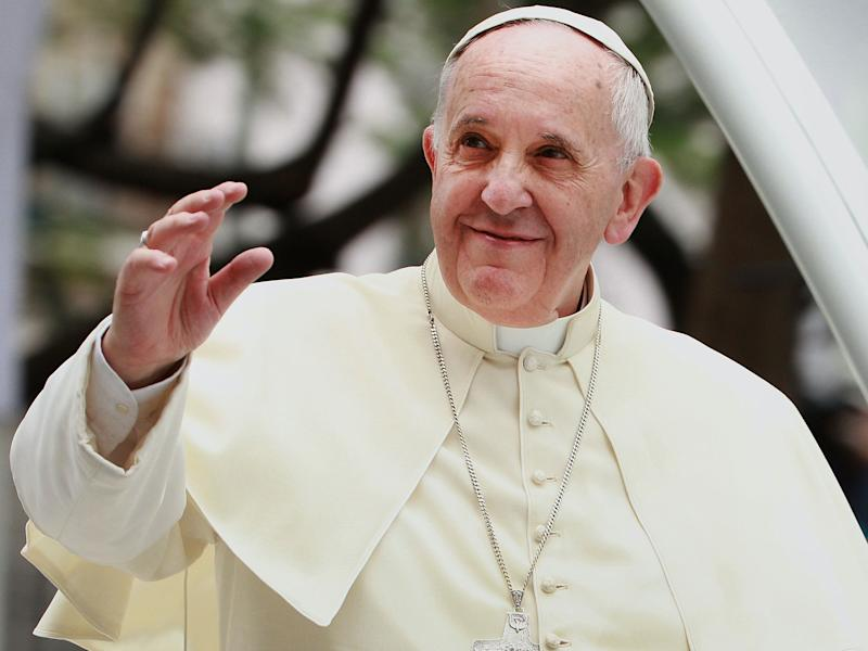 Pope Francis will not meet with Secretary of State Mike Pompeo this week when he visits the Vatican (Getty Images)