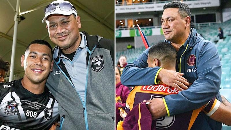 Jamayne Isaako is devastated after his father Taai lost his battle with cancer. Pic: Instagram