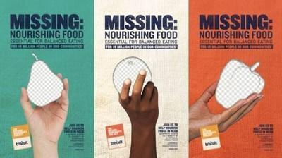 """The TRISCUIT brand leverages Iconic """"missing posters"""" to highlight the reality millions of Americans face: missing the nourishing food they need for balanced eating. Visit triscuit.com/MissingIngredients to learn more about the issue."""