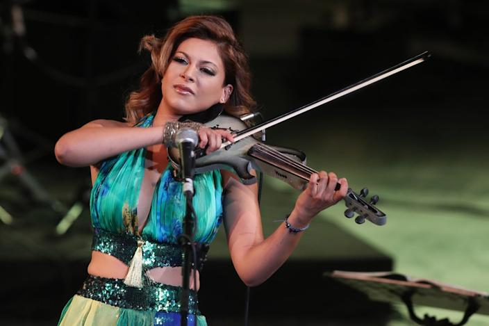 On Wednesday, Tunisian musician Yasmine Azaiez performs at the Hammamet International Festival