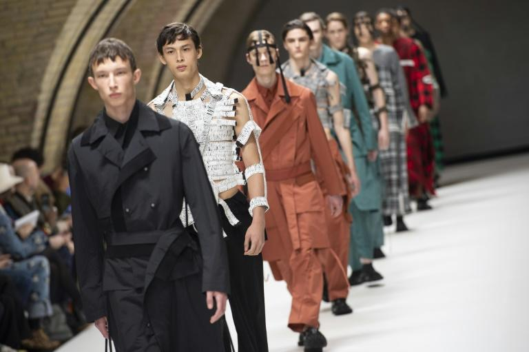Newbie: Acclaimed British menswear designer Craig Green is one of three newcomers to the Paris catwalk