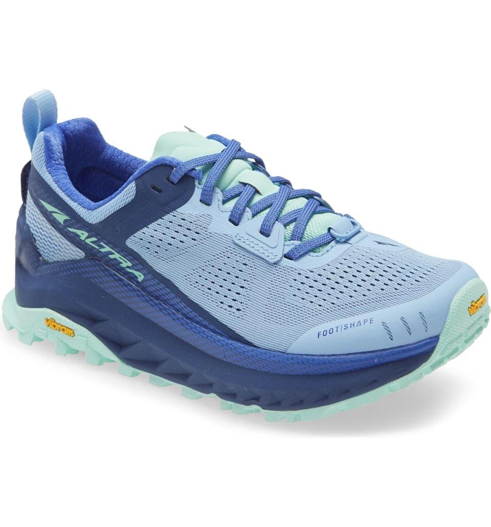<p>This breathable <span>Altra Olympus 4 Trail Running Shoe</span> ($170) is ideal for runs as it's both breathable and comfortable. The flexible sole will support you with every stride.</p>