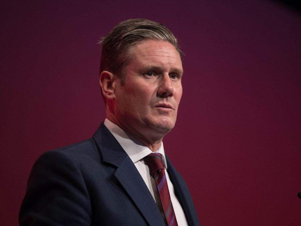 Labour leader Sir Keir Starmer will be undone by an ageing population (PA)