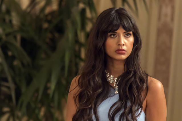<i>The Good Place</i> actress Jameela Jamil has aired her disgust at a tabloid magazine that is body-shaming celebrity women in their swimsuits. (Photo: Ron Batzdorff/NBC/NBCU Photo Bank via Getty Images)