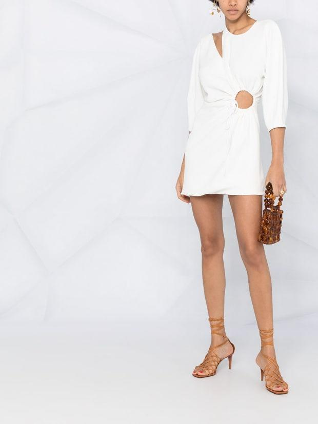 "<p>Stella McCartney Cutout Detail Mini Dress, $1,695, <a href=""https://rstyle.me/+jJDJ3UnLuy-blC3uD39kkw"" rel=""nofollow noopener"" target=""_blank"" data-ylk=""slk:available here"" class=""link rapid-noclick-resp"">available here</a> (sizes IT 36-42). </p>"