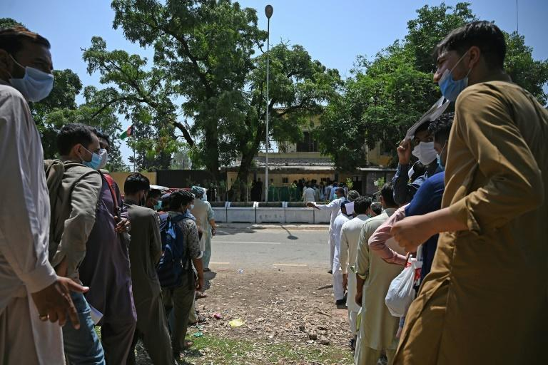 For those still hoping to make it to Afghanistan -- where virus cases are also rising following the Muslim holiday of Eid al-Fitr -- any future change in the rules might make the trip impossible