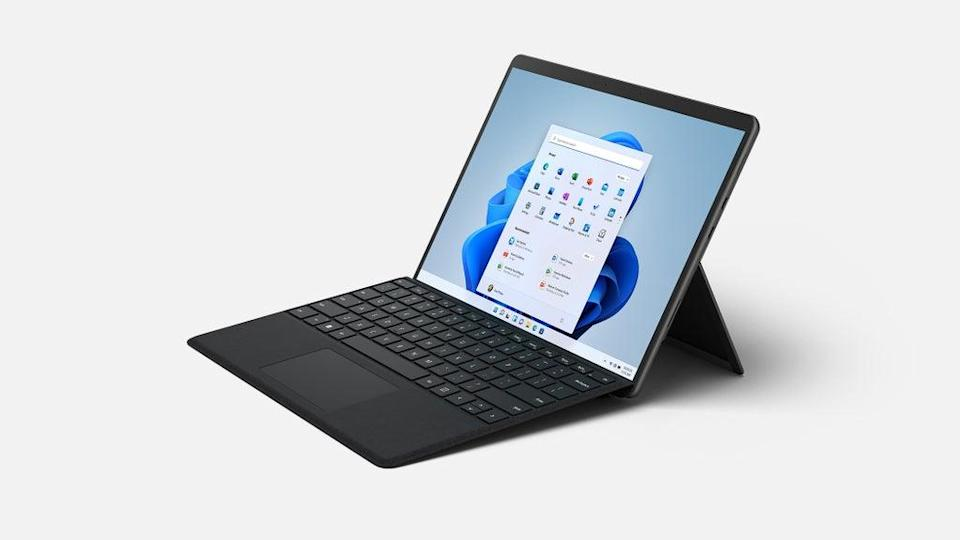 The Surface Pro 8 is faster than ever. (Microsoft)