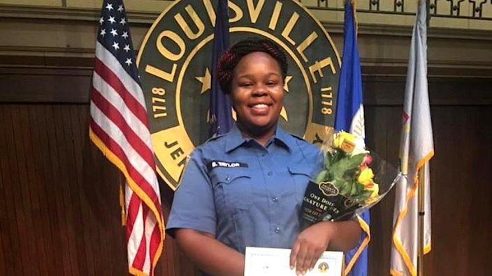 Breonna Taylor was a qualified EMT. (Family photo via NBC12)