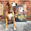 """<p><strong>Crown and Paw</strong></p><p>crownandpaw.com</p><p><strong>$49.95</strong></p><p><a href=""""https://crownandpaw.com/collections/custom-pet-canvas-art/products/the-colonel-custom-pet-canvas"""" rel=""""nofollow noopener"""" target=""""_blank"""" data-ylk=""""slk:SHOP IT"""" class=""""link rapid-noclick-resp"""">SHOP IT</a></p><p>What piece of artwork could be so beguiling, so dazzling, as a custom portrait of your dog in a setting and outfit of your choosing? Absolutely none.</p>"""