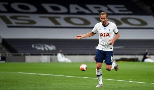 Back in business: Harry Kane scored his first goal of 2020 for Tottenham against West Ham