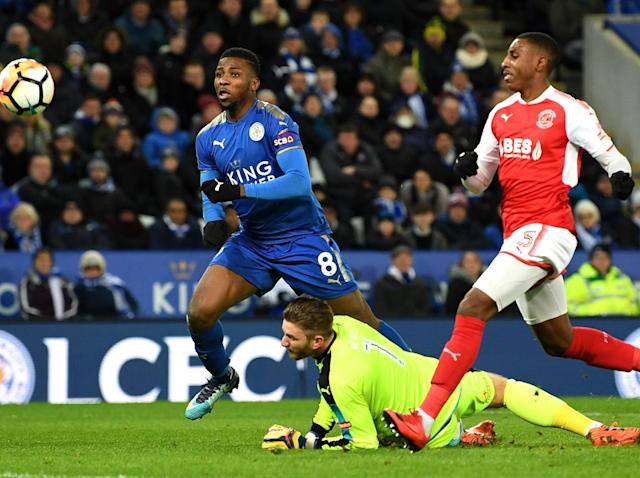 FA Cup: Kelechi Iheanacho makes VAR history to down Fleetwood as Cardiff, Sheffield Wednesday and Reading win
